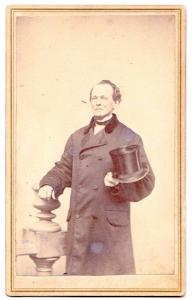 1870's Caleb Johnson CDV Photo, Manchester, Hillsborough County NH