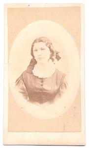 1870's Grandmother Marconini's Sister Photo, Norway, found New England