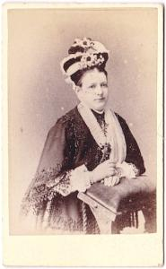 1870's Mary Ann Williscroft CDV Photo, found in Totnes, Devon, England