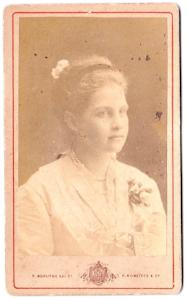 1880 Elizabeth C. Neath CDV Photo, Athens, Greece, Found Devon England