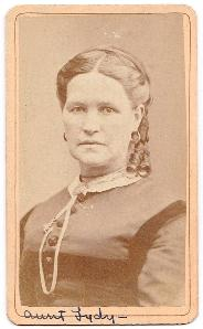 1870 Lydia Bennett Photo, sister to John Varney, Concord, Merrimack NH