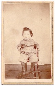 1869 Charles Metz Harness Photo by uncle photographer SJ Metz, Iowa