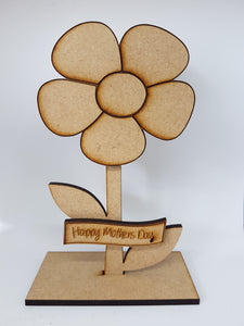 Flower Plaque with Message Banner