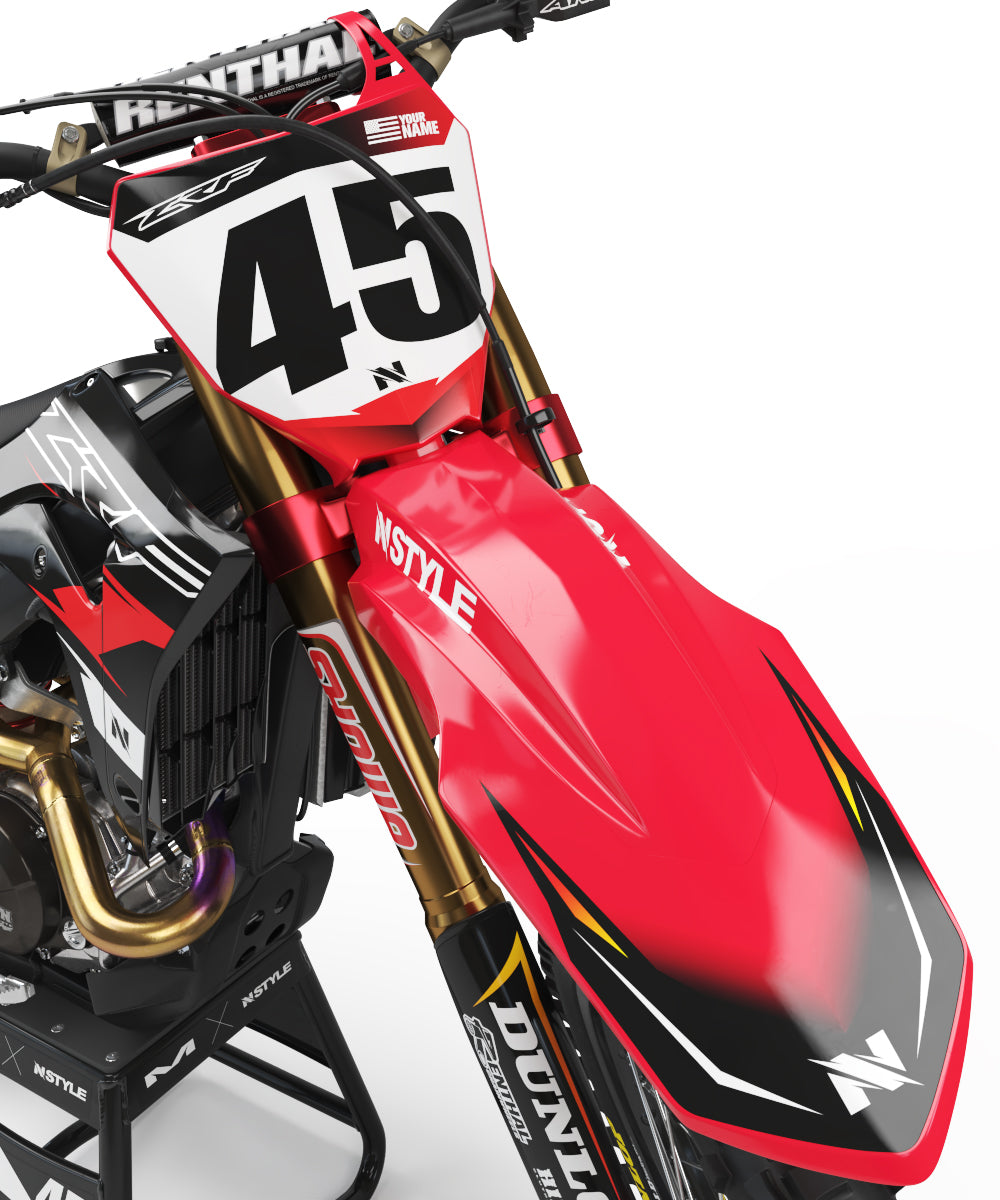 Ready-Made | ATTACK Black Graphic Kit Fits Honda