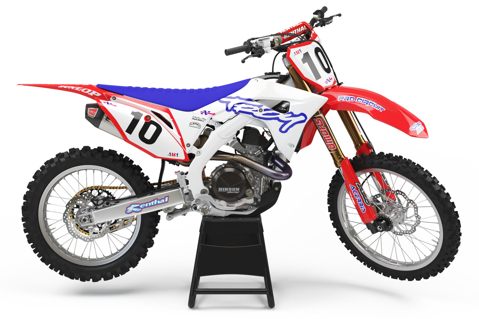 1995 Troy Graphic Kit for HONDA