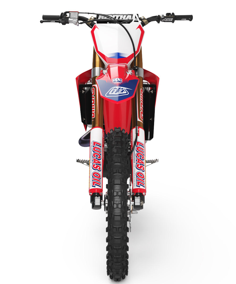 Ready-Made | 2011 TLD Lucas Oil Graphic Kit Honda