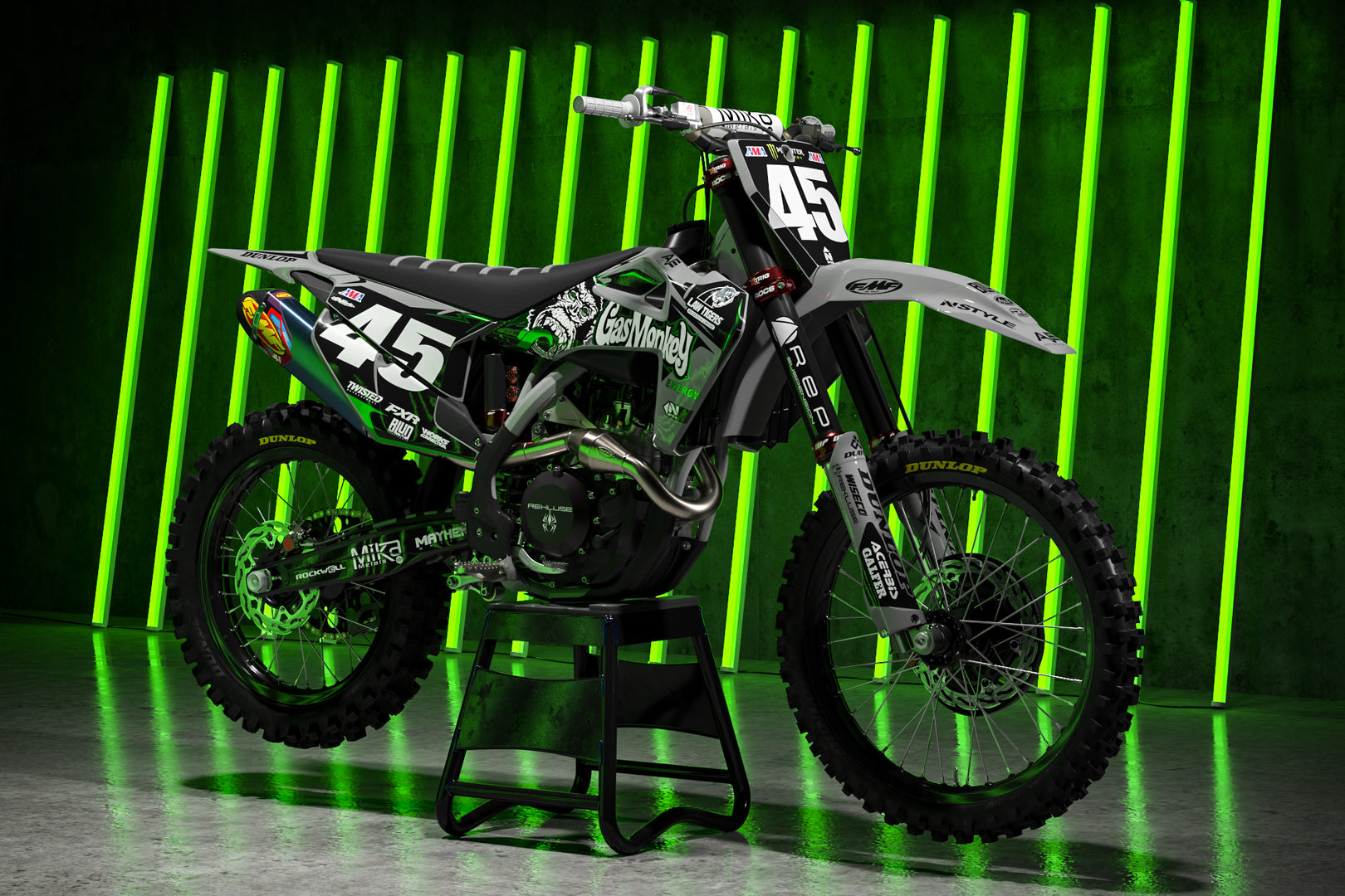 Team AJE Motorsports 2020 Graphic Kit Husqvarna