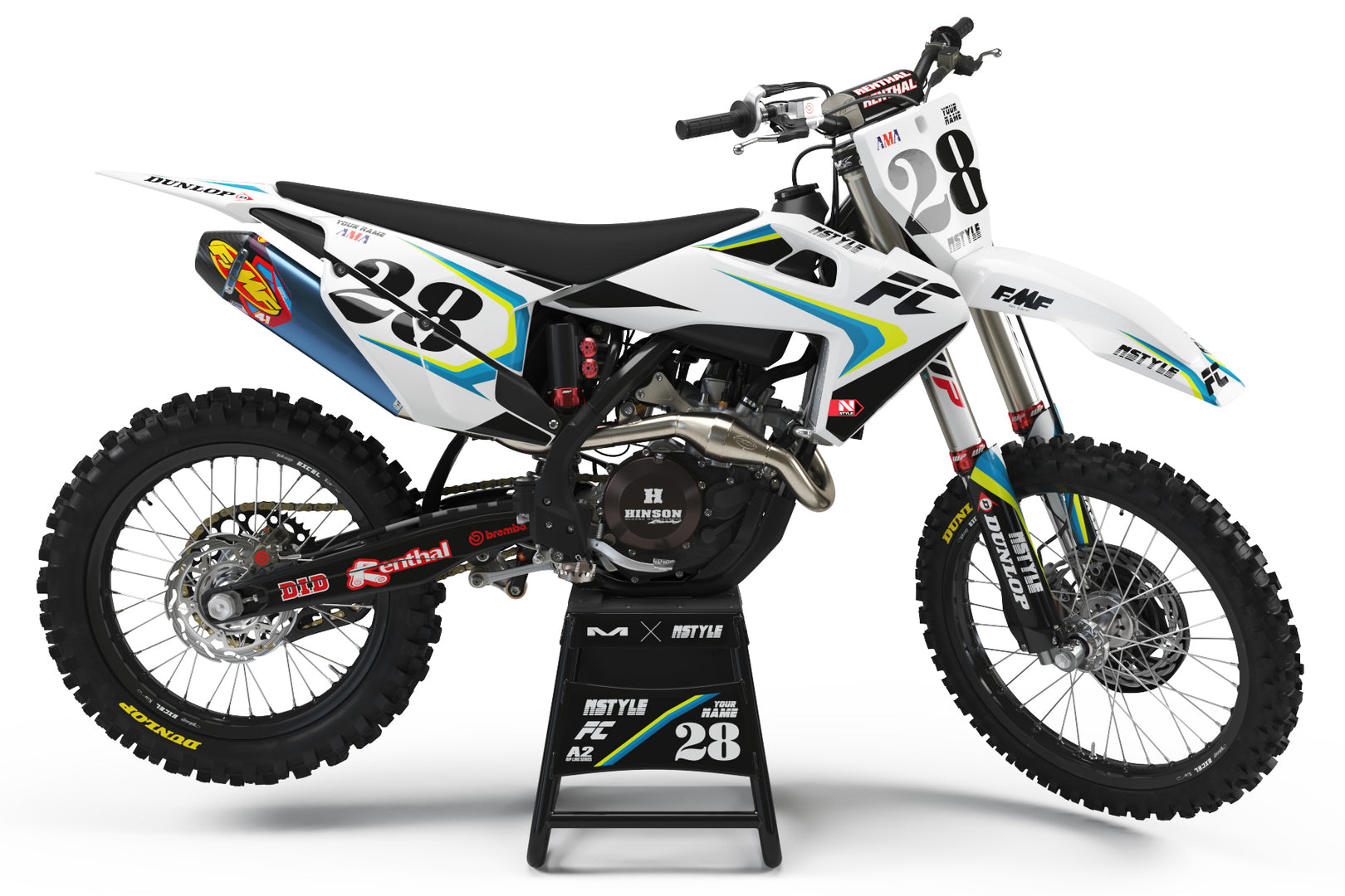 Stay Rad Graphic Kit Husqvarna