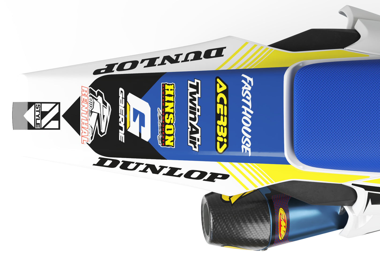 Ready-Made | VISION Graphic Kit Husqvarna