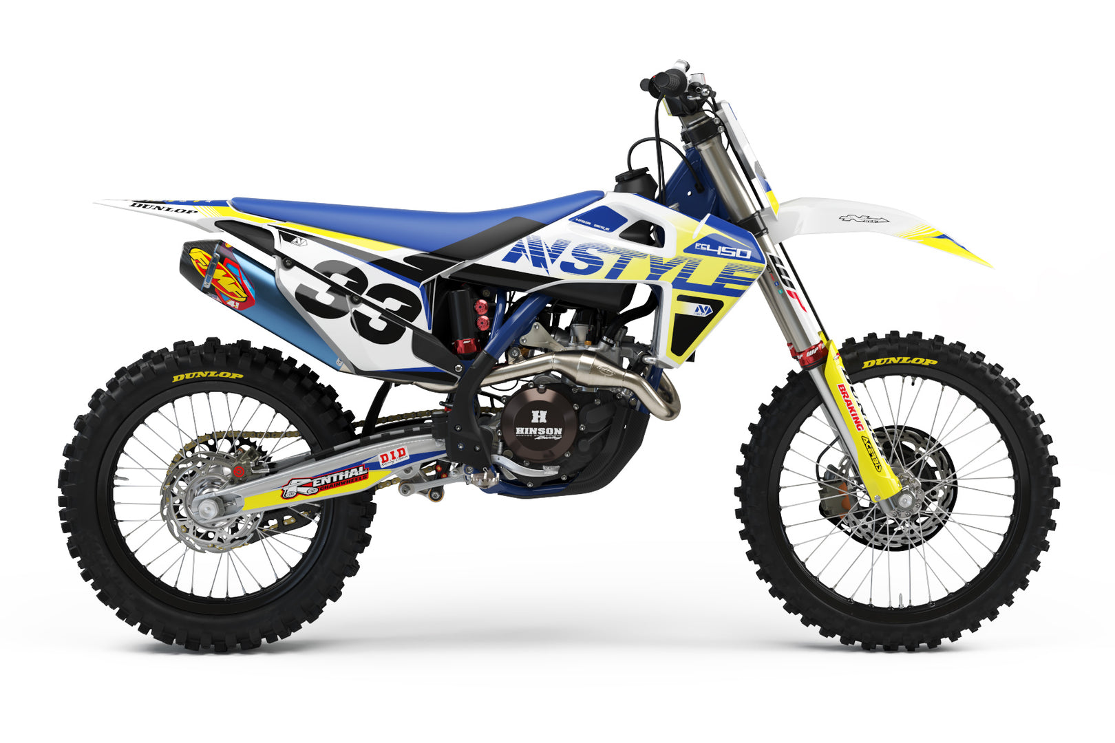 VISION Graphic Kit Husqvarna