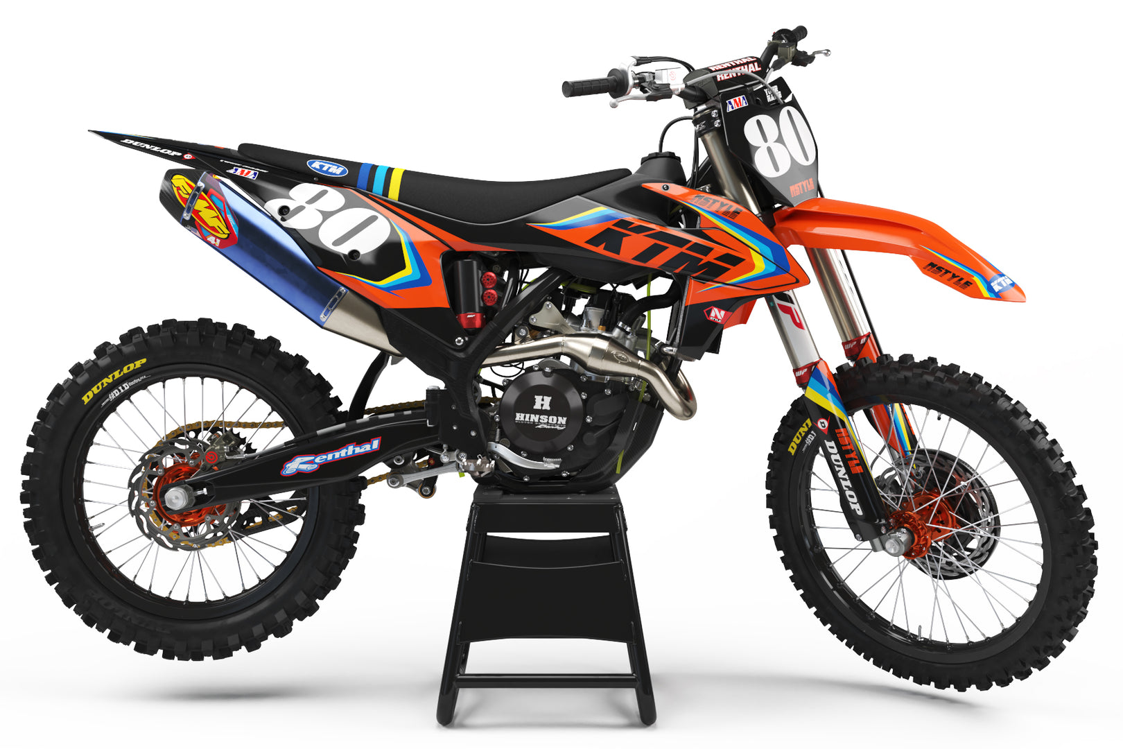 Ready-Made | Stay Rad Graphic Kit KTM