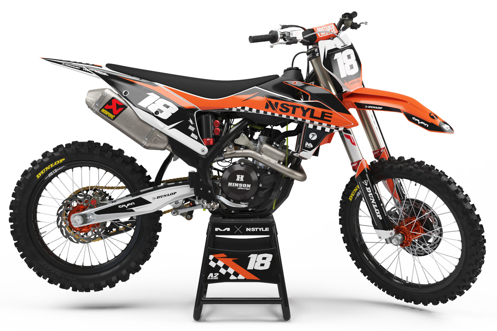 Raceline Graphic Kit KTM