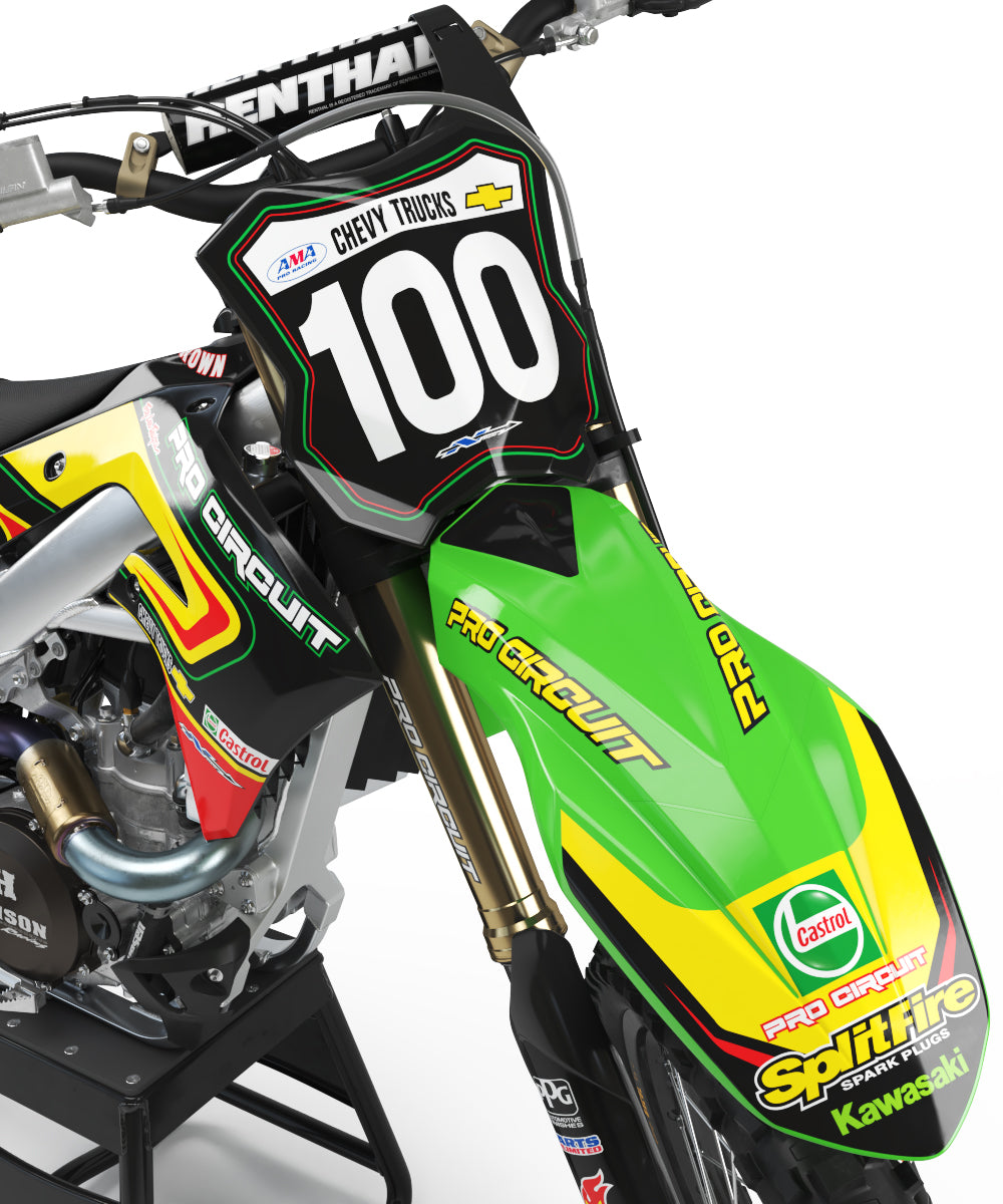 2001 Pro Circuit Graphic Kit Kawasaki