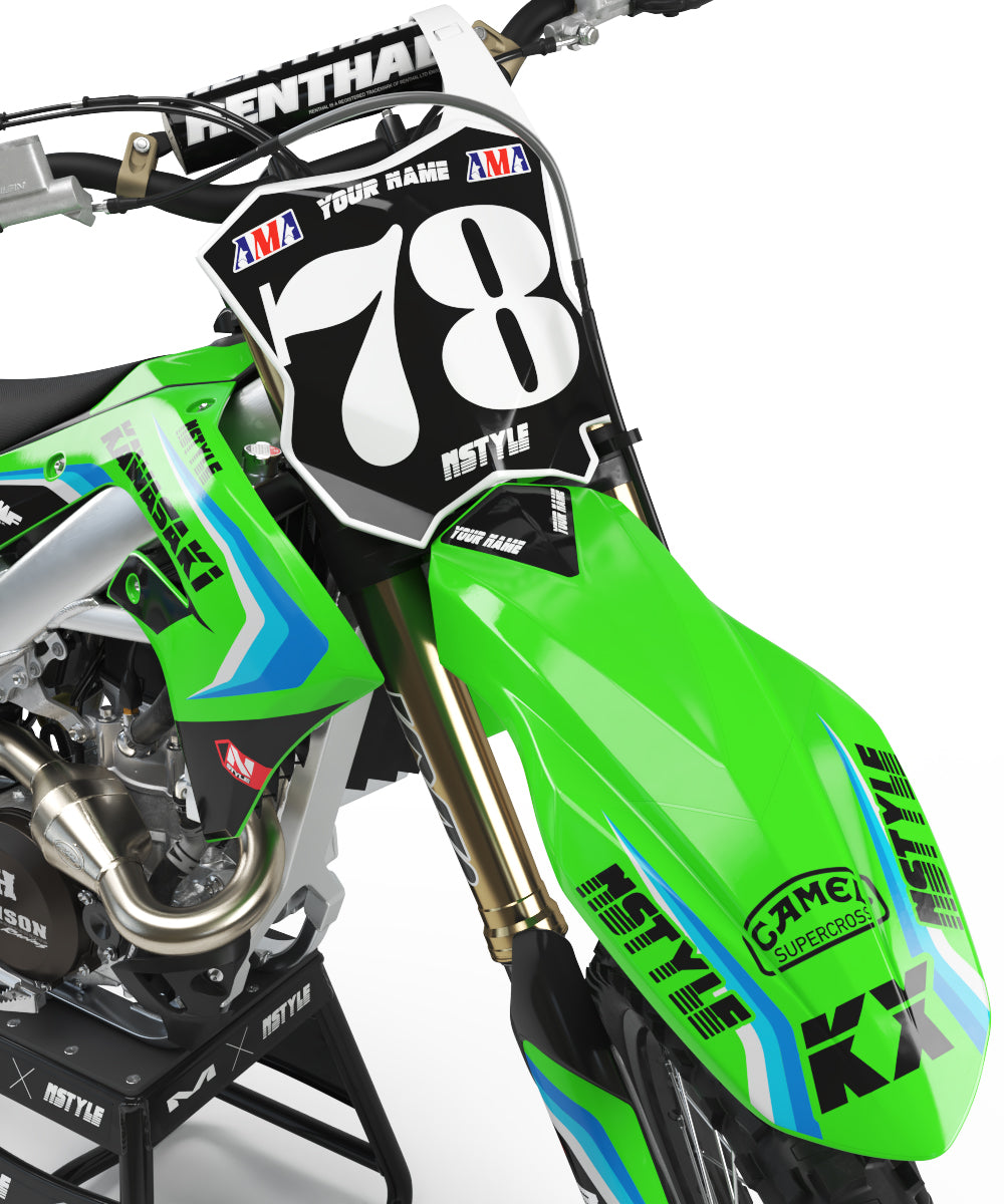 Ready-Made | Stay Rad Graphic Kit Kawasaki