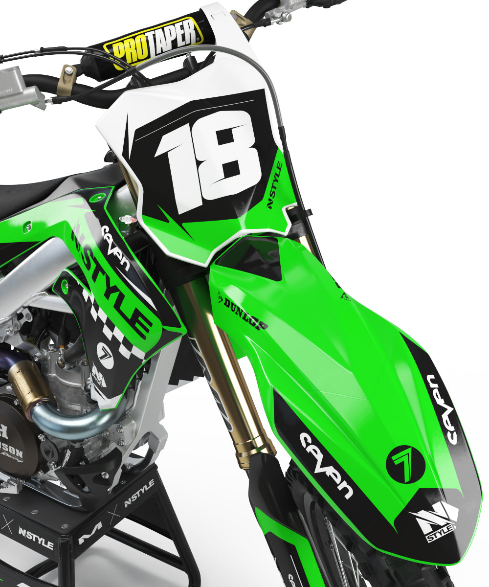 Ready-Made | Raceline Graphic Kit Kawasaki