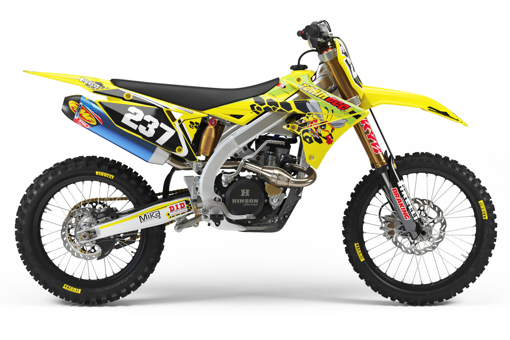 Team ECC Graphic Kit Suzuki