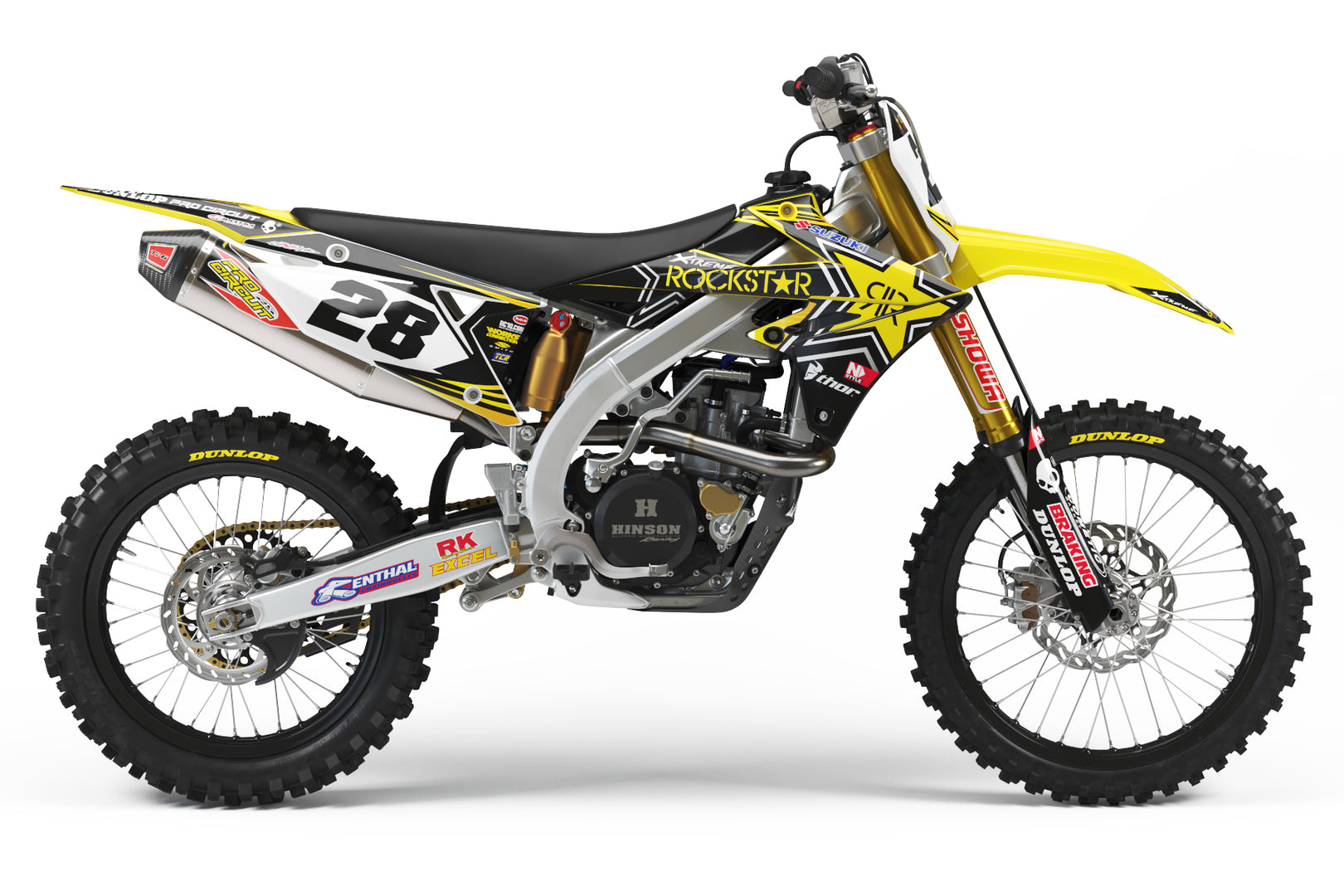 Ready-Made | Rockstar Suzuki Graphic Team Kit