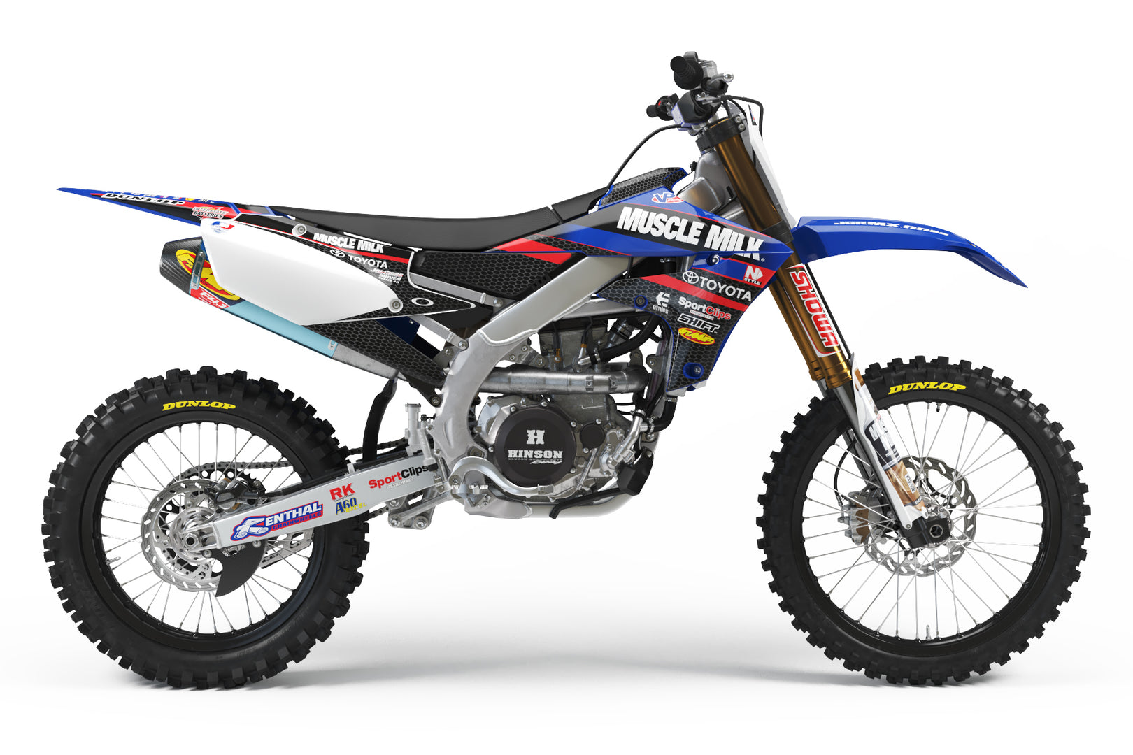 JGR Muscle Milk Yamaha Graphic Kit