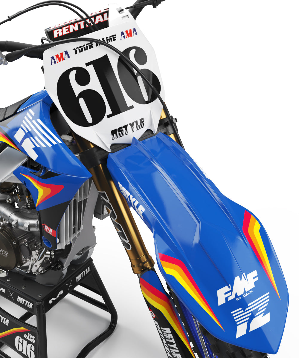 Ready-Made | Stay Rad Blue Graphic Kit Yamaha