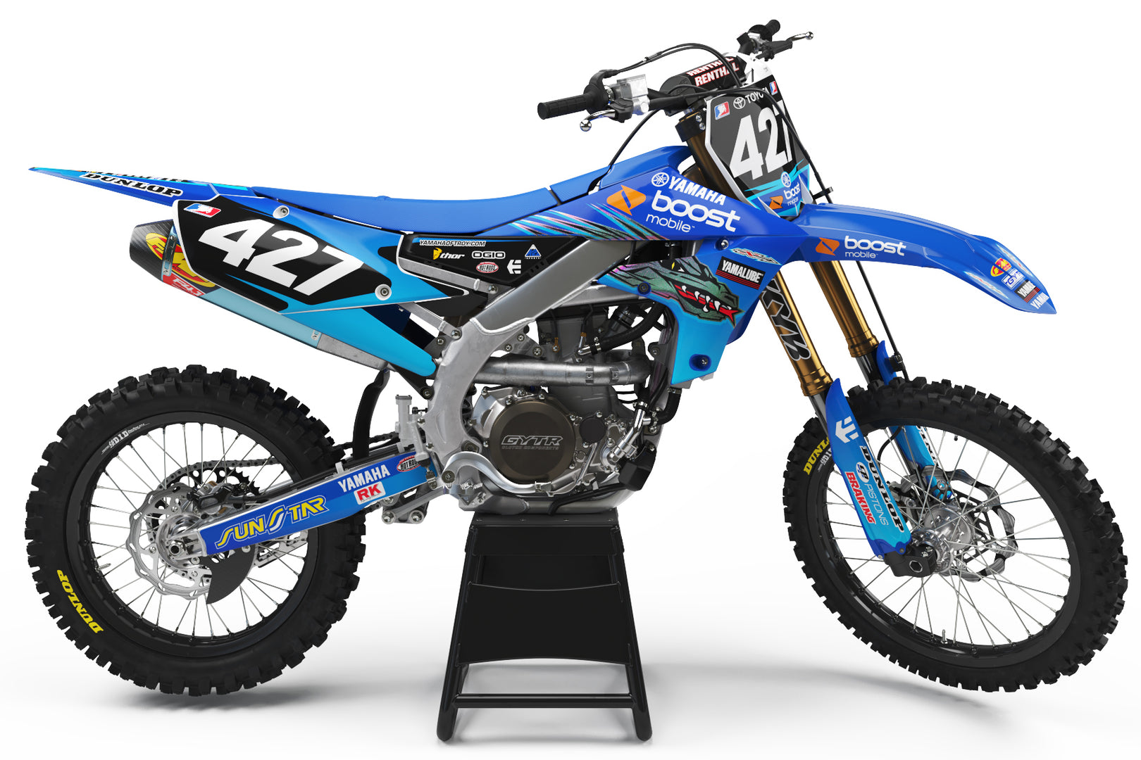 Ready-Made | 2008 Yamaha of Troy Graphic Kit Yamaha