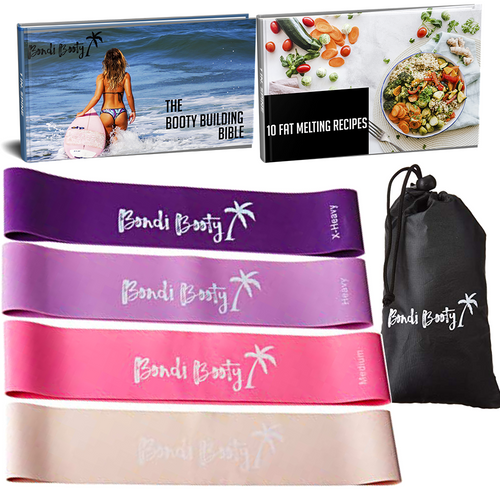 Resistance Bands | Booty Bands + Free Ebook + Free Carry Bag