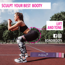 Load image into Gallery viewer, Resistance Bands | Booty Bands + Free Ebook + Free Carry Bag - Bondi Booty