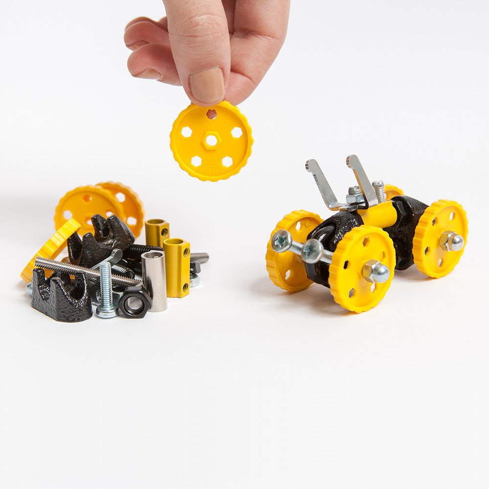 3-in-1 Yellow Vehicle Kit from The OFFBITS