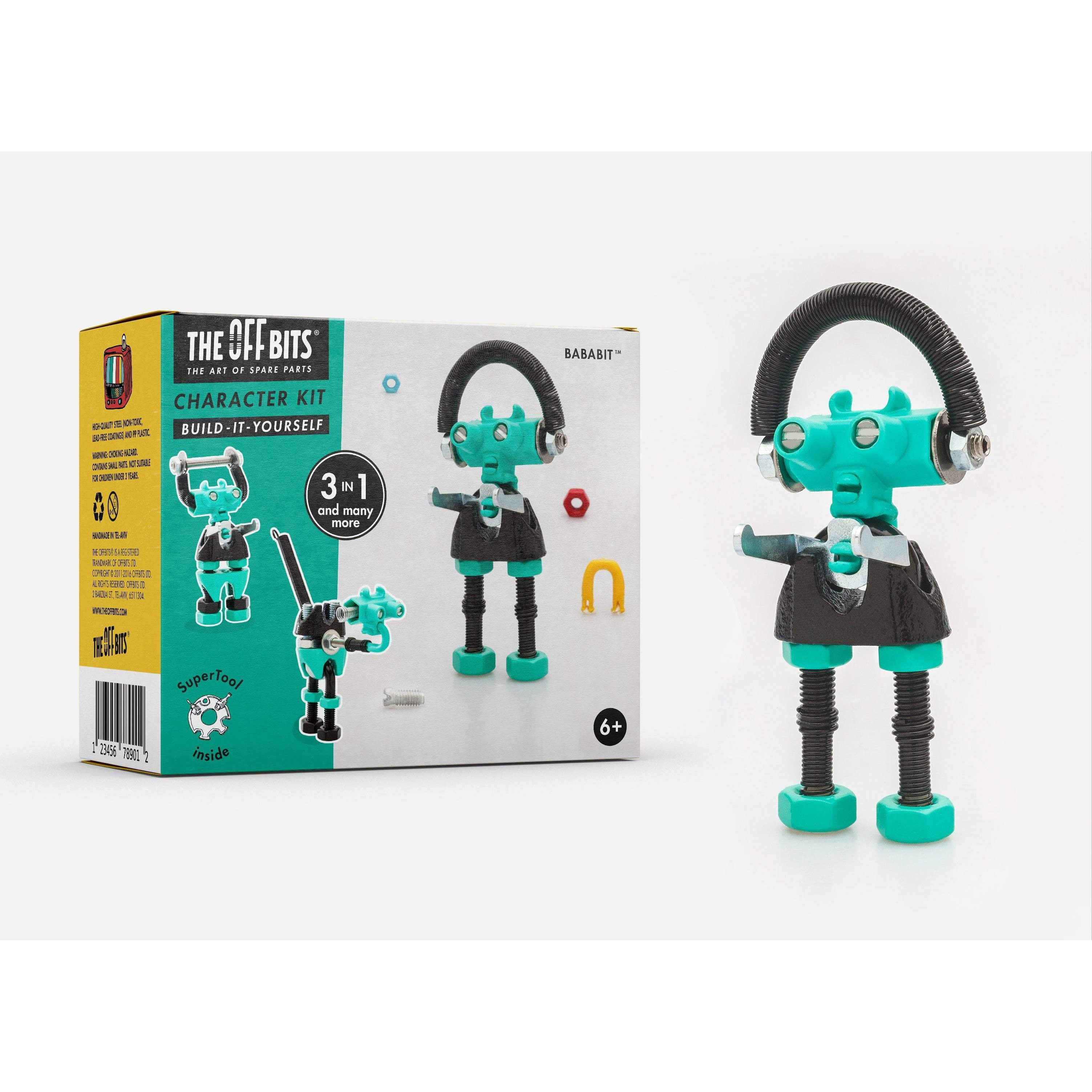 GREEN 3-in-1 Robot Kit from The OFFBITS