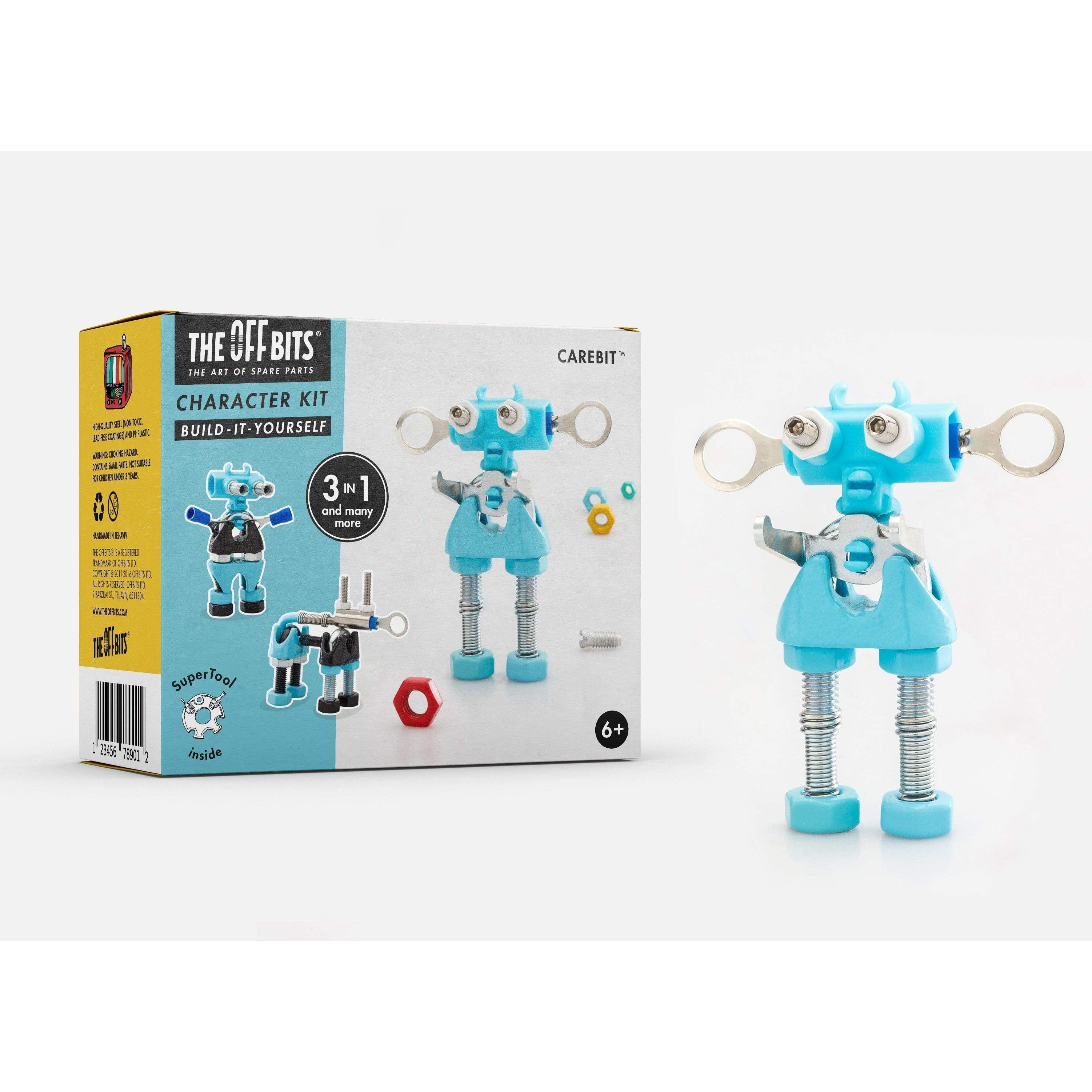 BLUE 3-in-1 Robot Kit from The OFFBITS