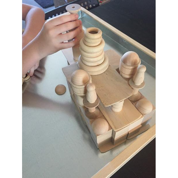 Loose Parts Tower Blocks