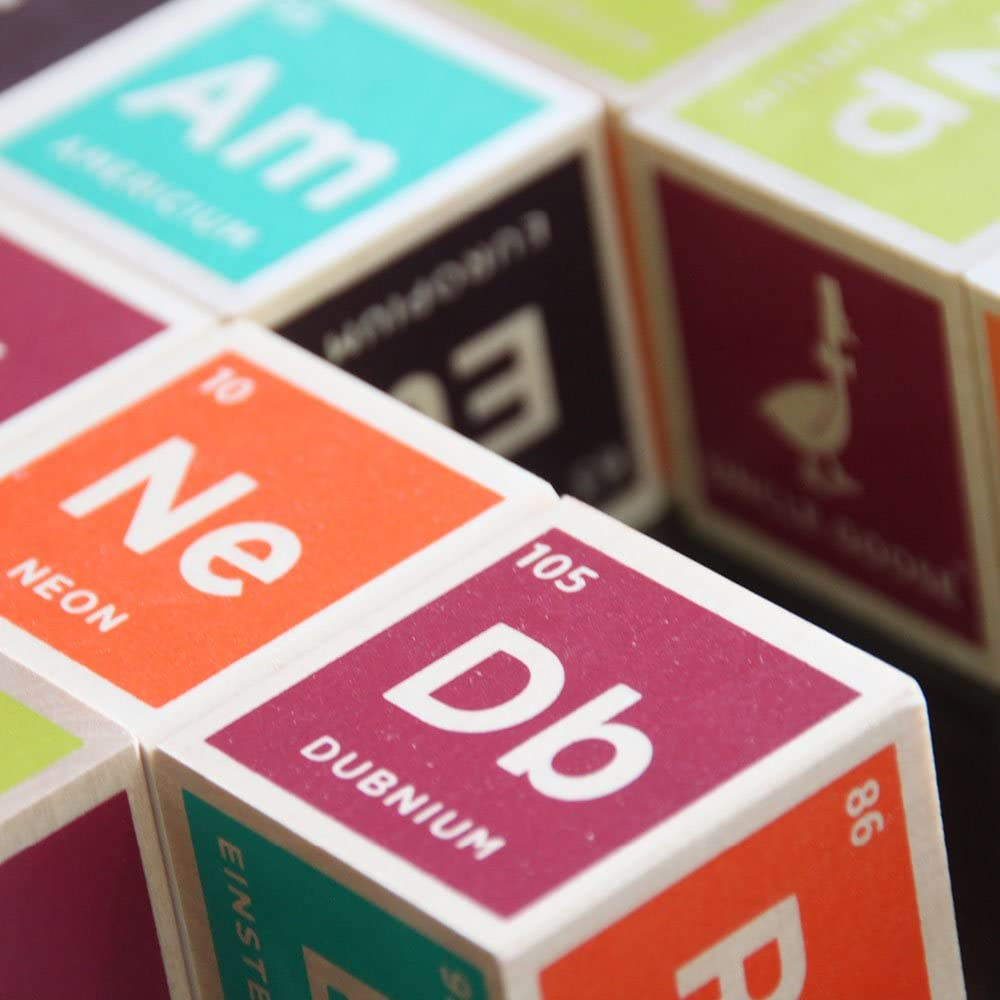 Periodic Table Blocks, Set of 20