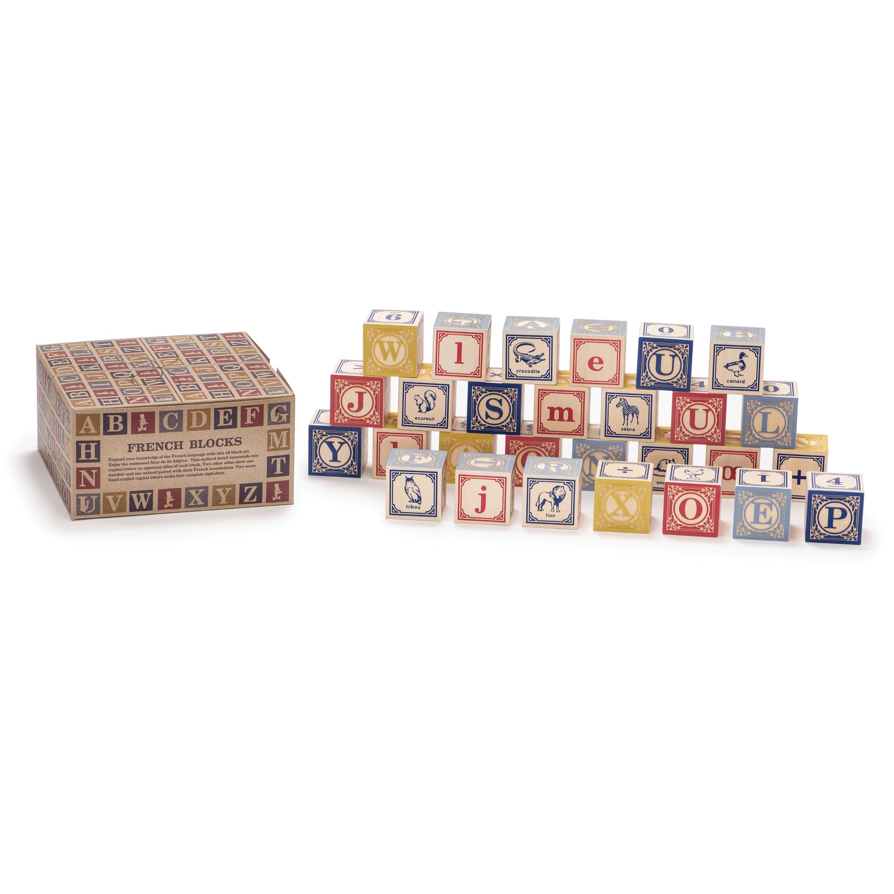 French Blocks, Set of 28