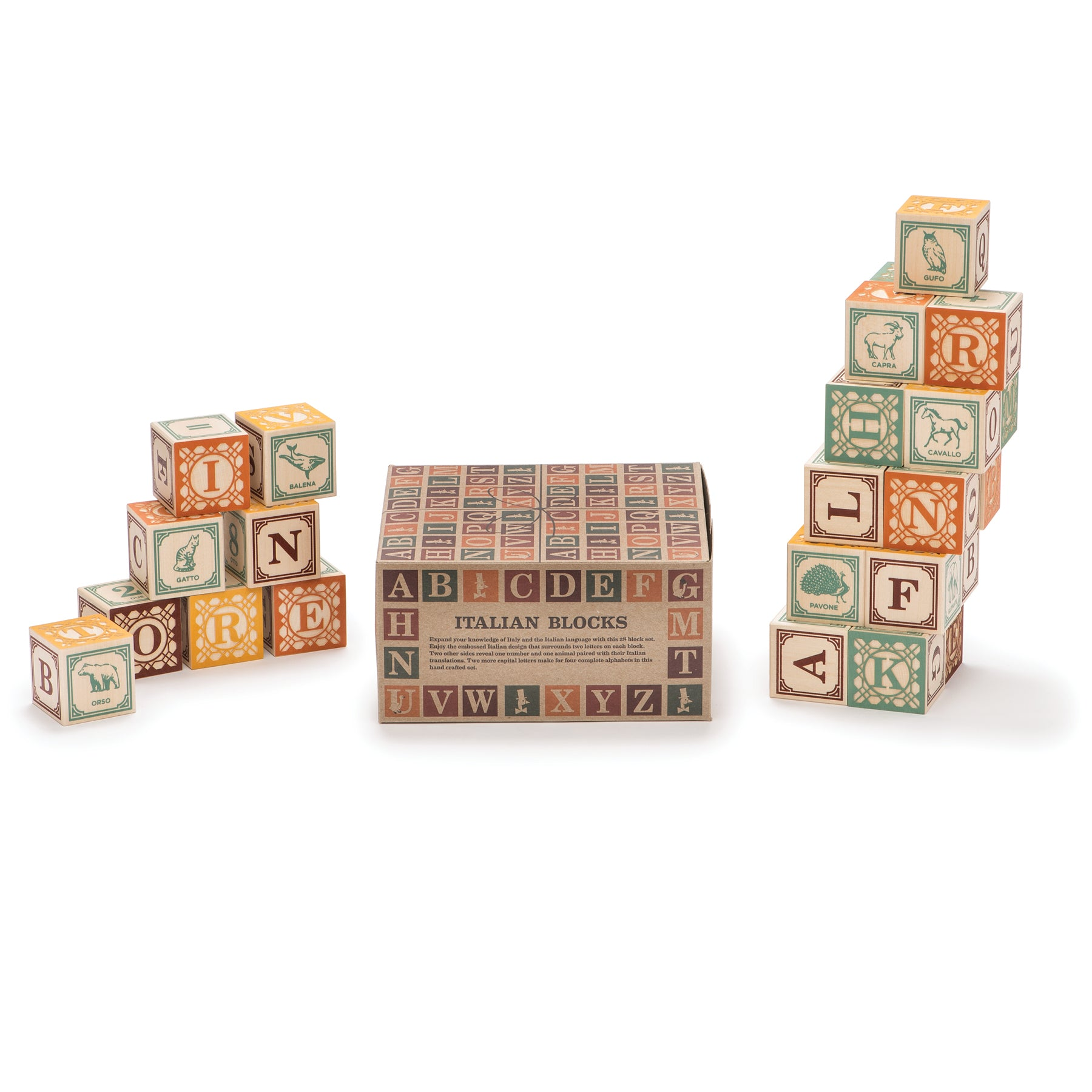 Italian Blocks, Set of 28