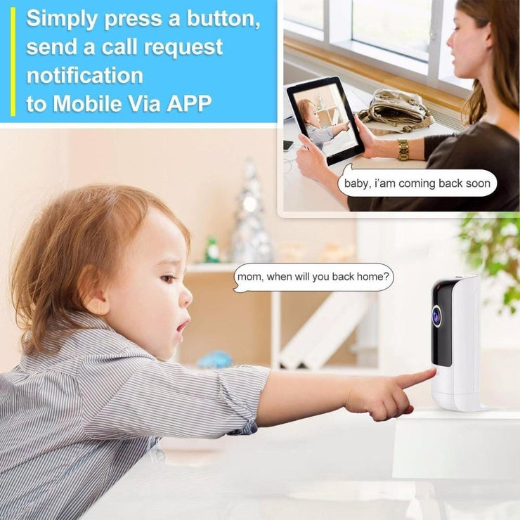 Pet Camera Baby Monitor WiFi With Night Vision - 365Gifts4All