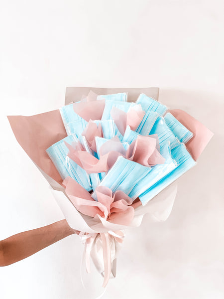 3-Ply Surgical Mask Care Bouquet