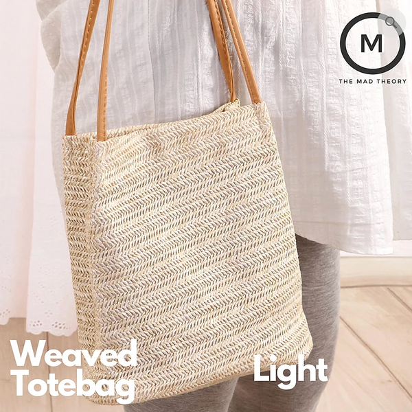 Weaved Tote Bag (2 Colours)