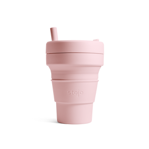 Stojo Collapsible Cup - Carnation