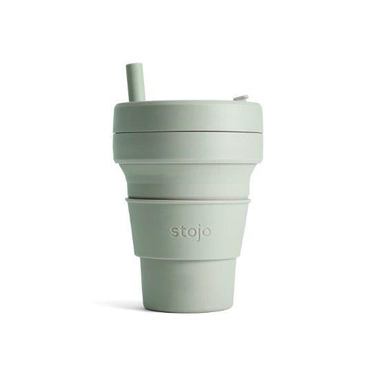 Stojo Collapsible Cup - Sage