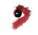 Cat Nip Feather Tail Ball Toy