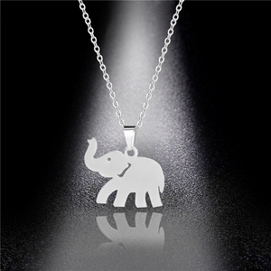 Marching Elephant Necklace