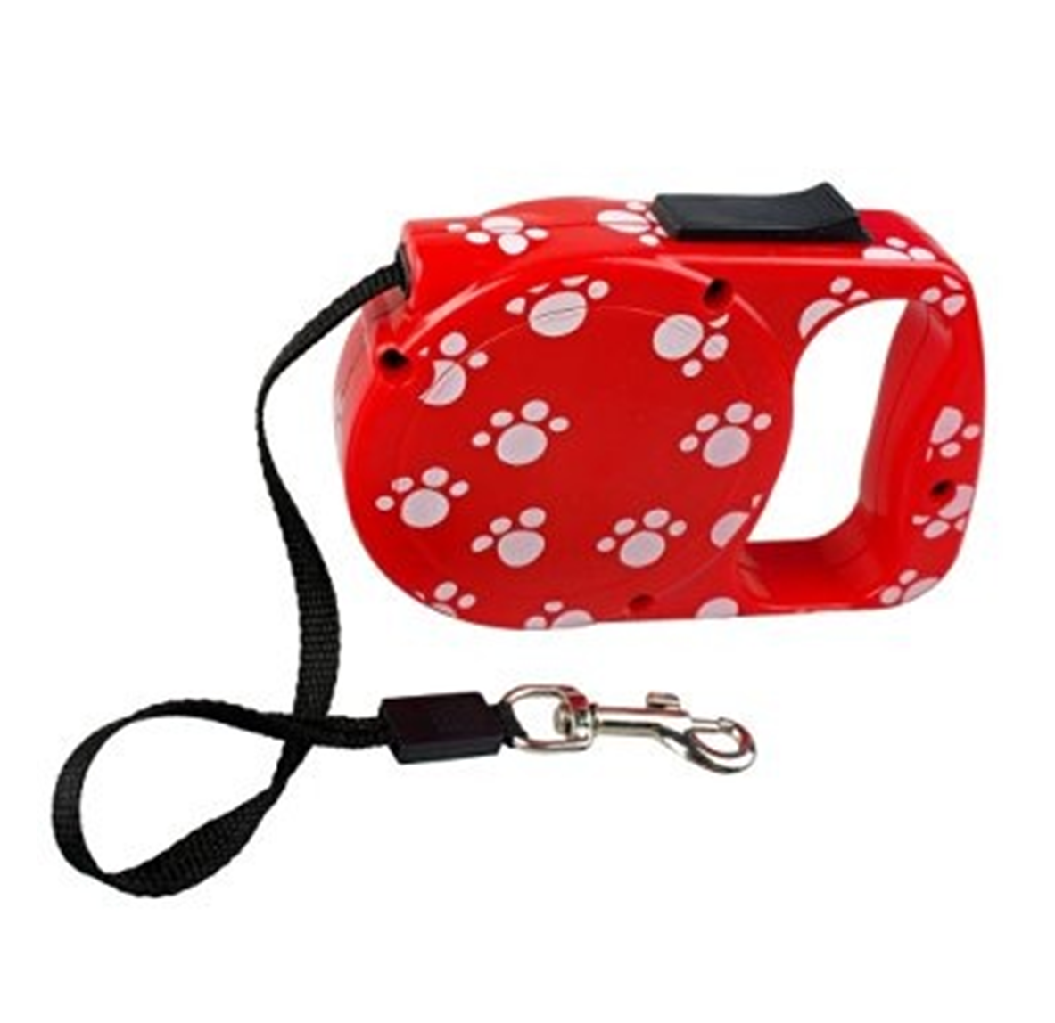 Essential Retractable Dog Lead (Red)