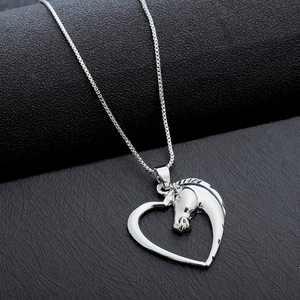 Galloping Heart Necklace