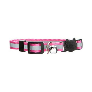 Reflective Cat Collar (Pink)