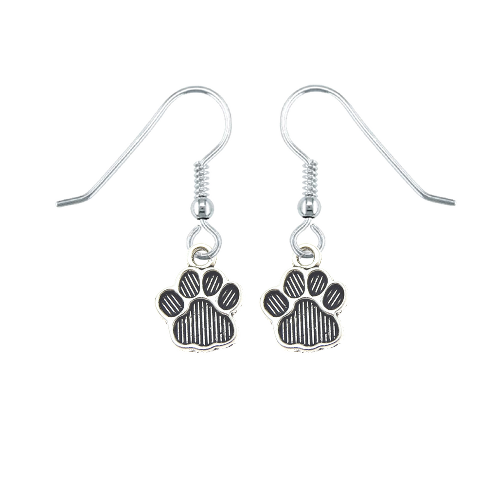 Striped Paws Earrings