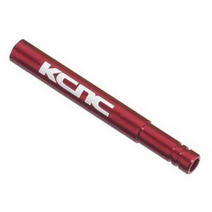 KCNC Valve Extender set 50mm - Red