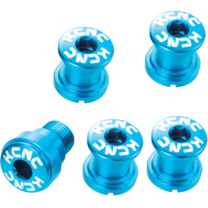 KCNC Chainring Bolts Set Road - Campagnolo - Blue