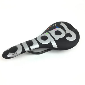 Fabric Scoop Ultimate Flat carbon saddle - Israel Cycling Academy