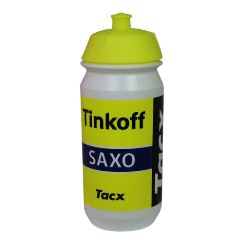 Tacx Shiva Bio 500ml bottle - Tinkoff-Saxo
