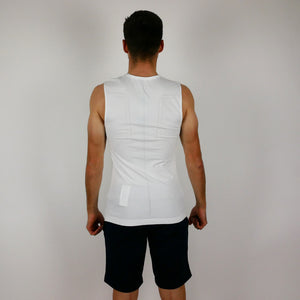 Base layer Craft - No sleeve White - CST Sandd American Eagle MTB