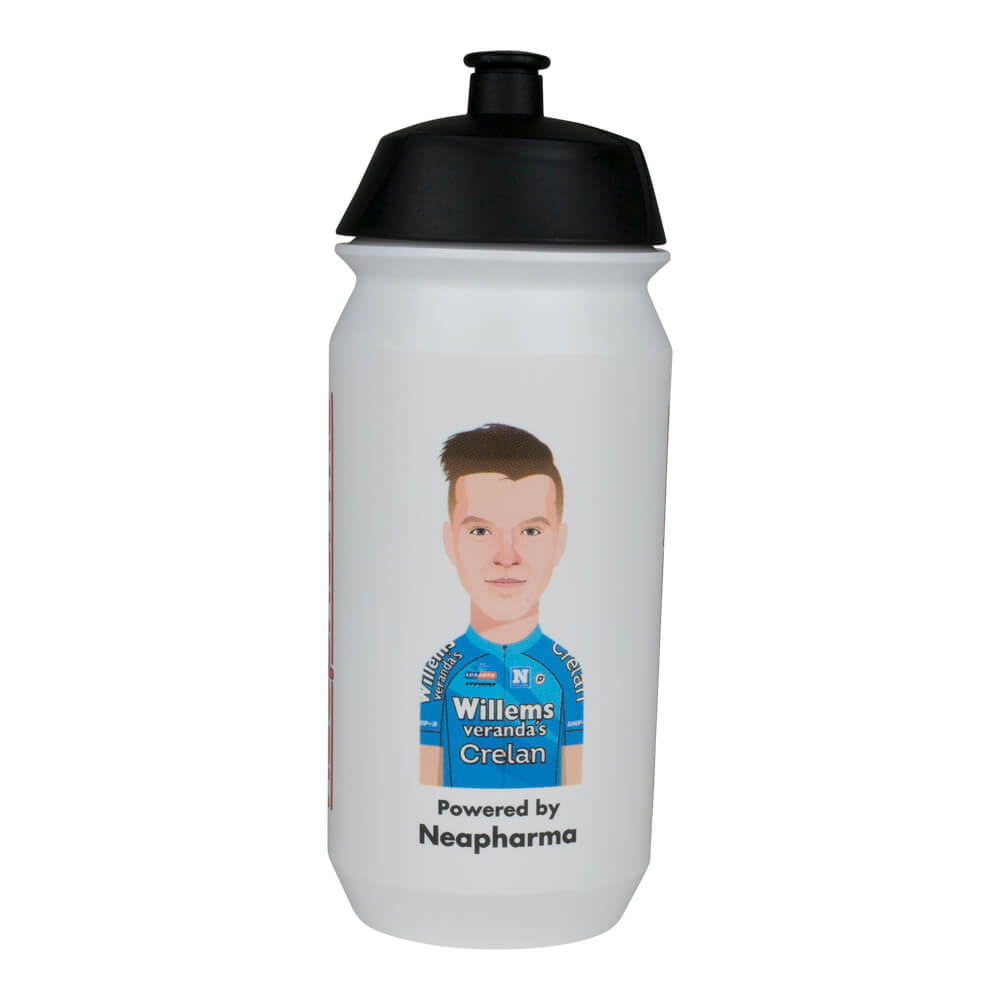 Water bottle - Tacx Shiva 500ml - Zico Waeytens - Veranda's Willems Crelan